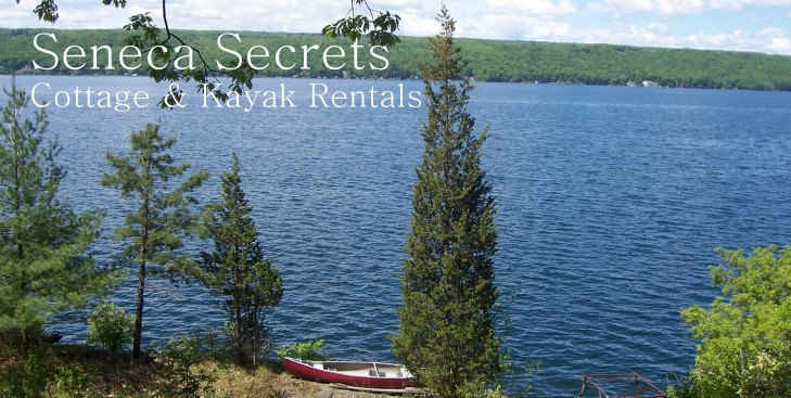 Offering Cottage And Kayak Rentals On Seneca Lake, Finger Lakes, NY